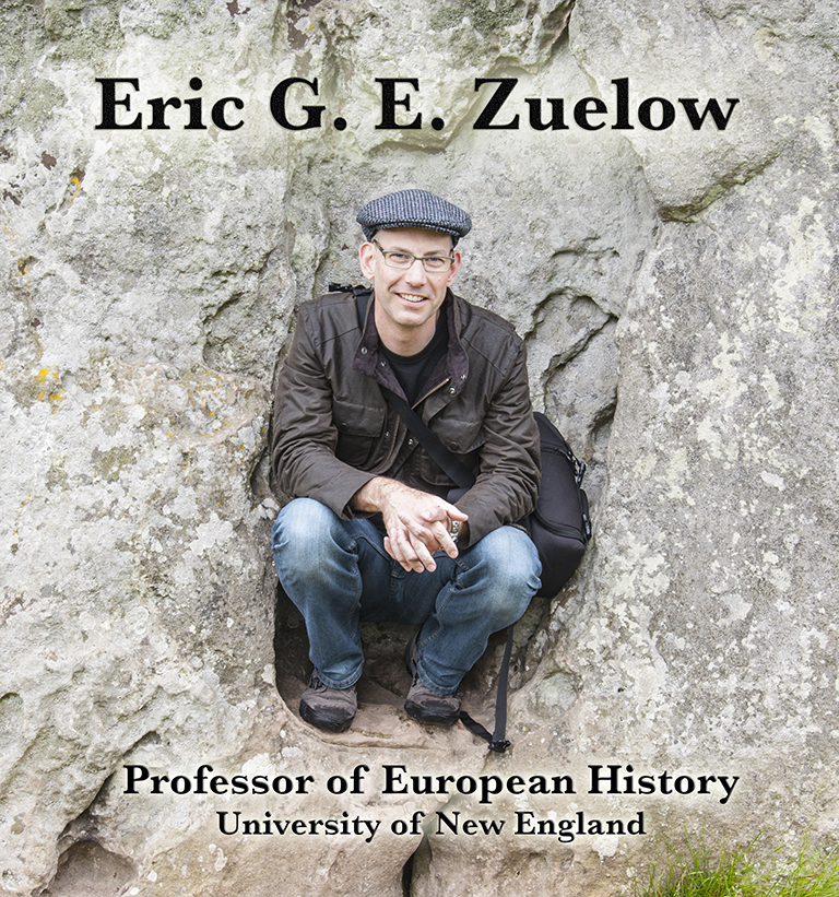 Eric Zuelow at Avebury, 2014